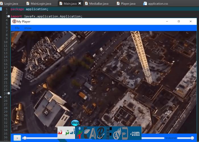 itarfand-77 سورس کد Media Player به زبان جاوا